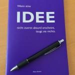 Zettel und Stift – Nische finden